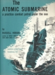 Cover of 'The Atomic Submarine', published by Harper and Brothers