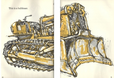 Bulldozer from 'What does it do and how does it work?' published in 1959 by Harper and Brothers