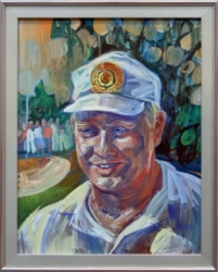 Jack Nicklaus, 'Sports Illustrated', casein on masonite, 1962
