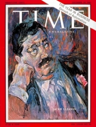 Jackie Gleason by Russell Hoban © Time Magazine