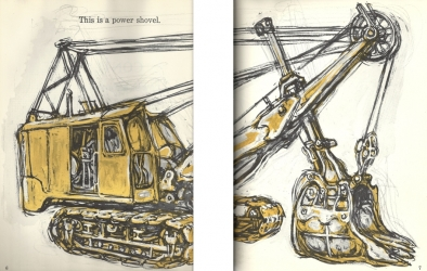 Power shovel from 'What does it do and how does it work?', published in 1959 by Harper and Brothers