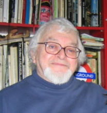 Russell Hoban 2005 portrait by Lisa Greenstein